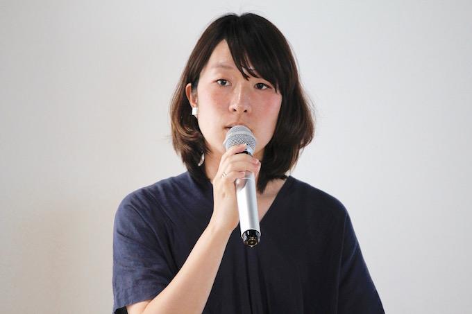 プロジェクトディレクターの猪股有佐さん