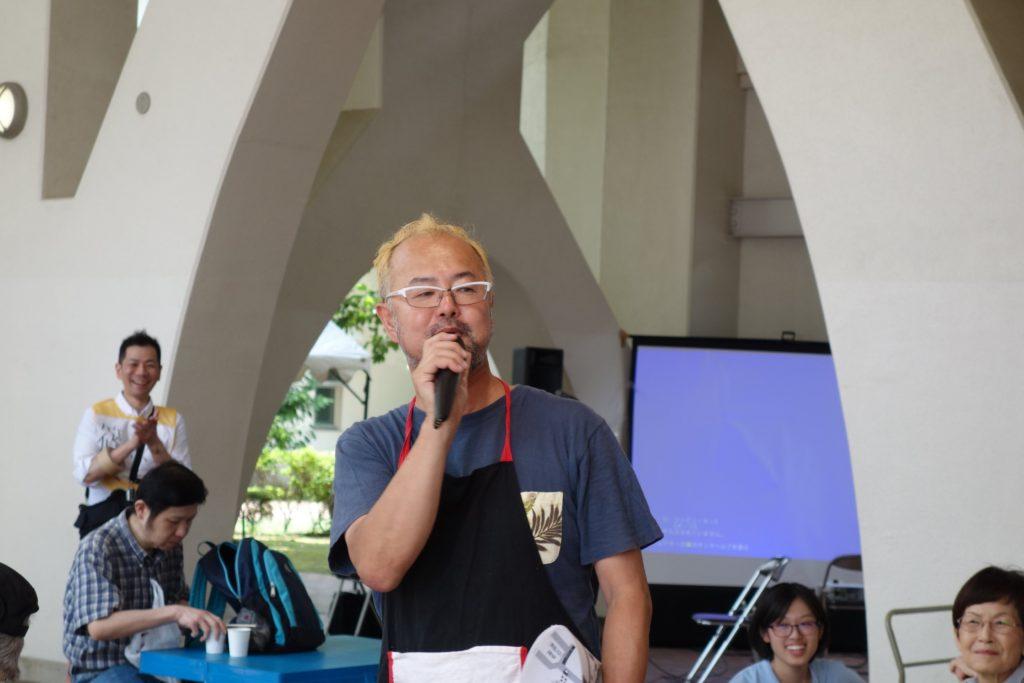 「ご近所マンション実行委員会」委員長の山本美賢さん