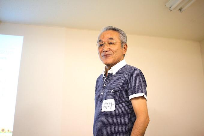 パークシティ溝の口管理組合の理事長経験者の桜井さん