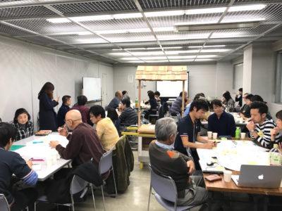 U26メンバーが「パークシティ溝の口」の居住者と共にコミュニティカフェのアイデアを考えました